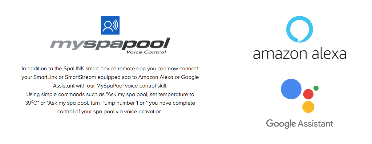 mySpaPOOL voice